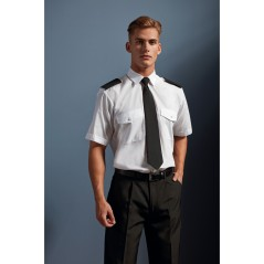 Chemise Homme manches courtes Pilote